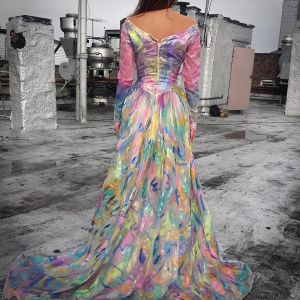 2014 Hand Painted Dress