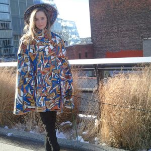 2013 Hand Painted Vintage Cape