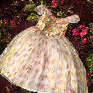 2016 Hand Painted Child's Dress